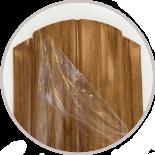 Планка штакета с защитной пленкой